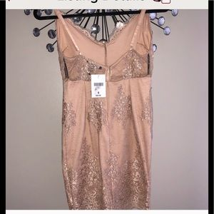 Forever 21 Dresses - 💋Lace Nude Dress -NWT